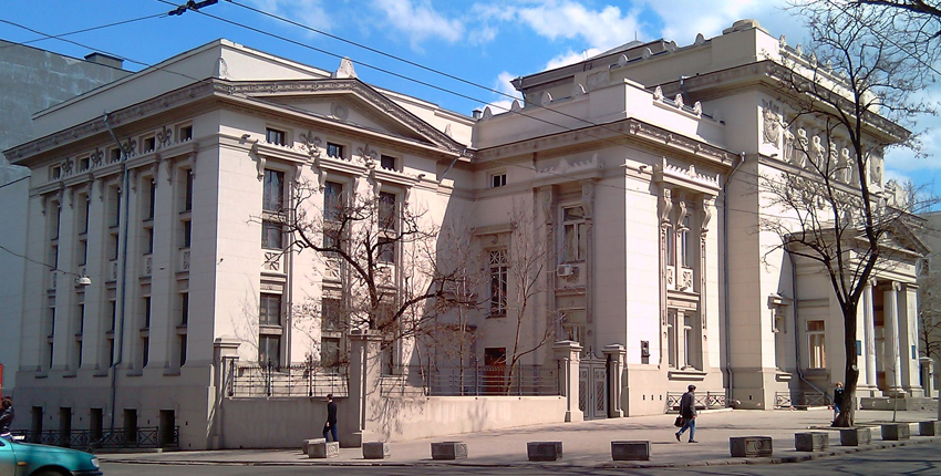 библиотека горького м